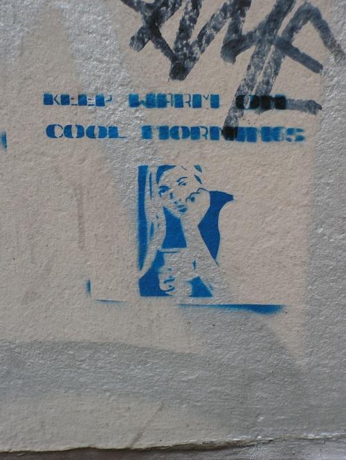 Stencil irgendwo im Belgischen