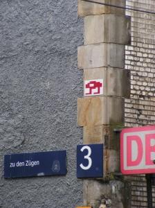 Invasion by Invader auf der Zülpicher Straße