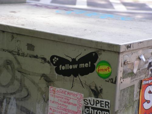 Stencil Schmetterling Belgisches