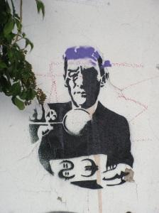Stencil auf der Heliosstraße