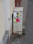 Clown auf derGeisselstraße