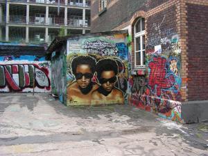 Graffiti an der Alten Feuerwache (Köln)