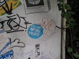 """""""Still NOT ♡'ING POLICE!"""" Alte Feuerwache (Köln)"""