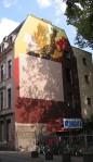 Goodlack-Arbeit auf der Glasstraße in Ehrenfeld