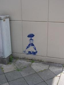 Hofdame auf der Düsselthalerstraße