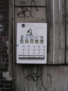 Automat auf der Ellerstaße