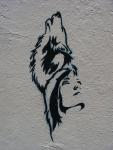 Wulf Woman Stencil Bunbury