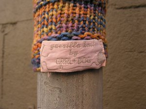 Guerilla Knit by GRRL+DOG