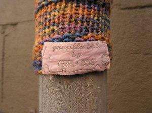 Guerilla Knit by GRRL+DOG
